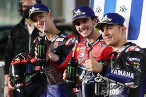 Pole sitter Francesco Bagnaia, Ducati Team