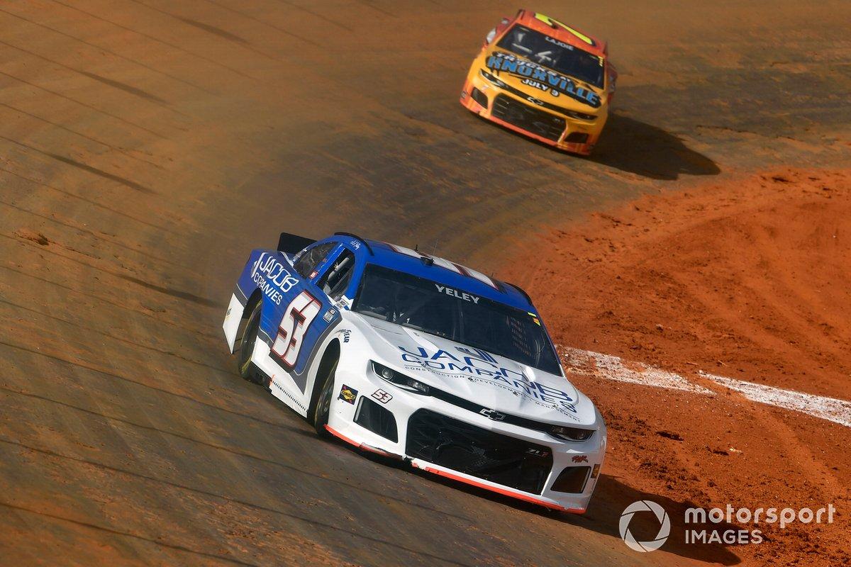 J.J. Yeley, Rick Ware Racing, Chevrolet Camaro