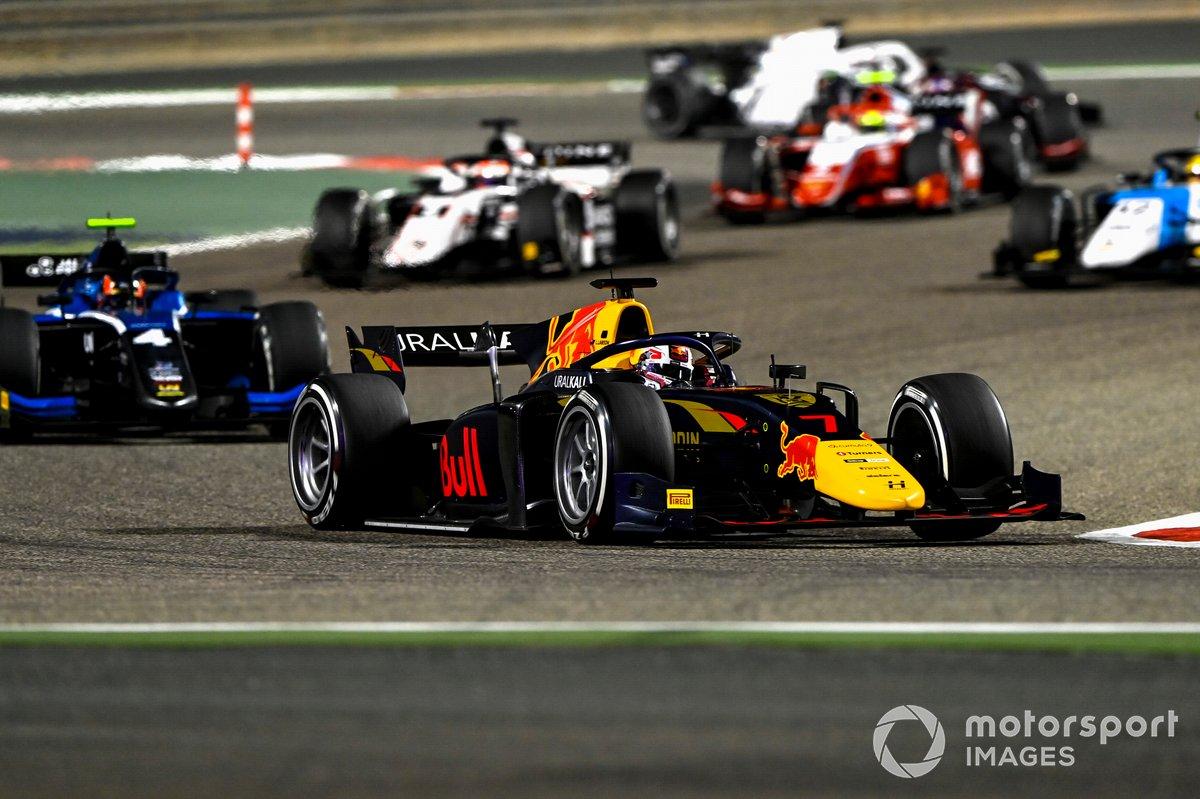 Liam Lawson, Hitech Grand Prix, Felipe Drugovich, Uni-Virtuosi