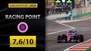 Eindrapport Formule 1 2020: Racing Point
