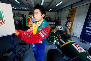 Hideki Noda, Larrousse F1