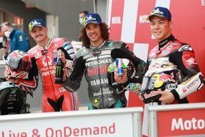 Jack Miller, Pramac Racing Franco Morbidelli, Petronas Yamaha SRT Takaaki Nakagami, Team LCR Honda