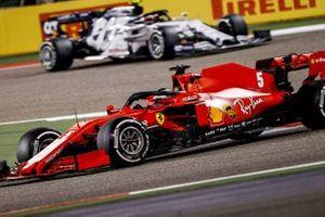 Sebastian Vettel, Ferrari SF1000, Pierre Gasly, AlphaTauri AT01