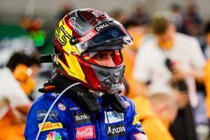 Carlos Sainz Jr., McLaren sur la grille