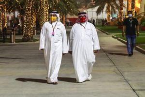 Crown Prince Salman bin Hamad bin Isa Al Khalifa with Sheikh Abdullah bin Hamad bin Isa Al Khalifa