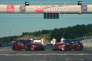 Stefano Coletti, Luca Filippi, Oliver Webb, Rodrigo Baptista, Romeo Ferraris M1RA, Alfa Romeo Giulia ETCR