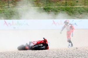 Jorge Martin, Pramac Racing crash