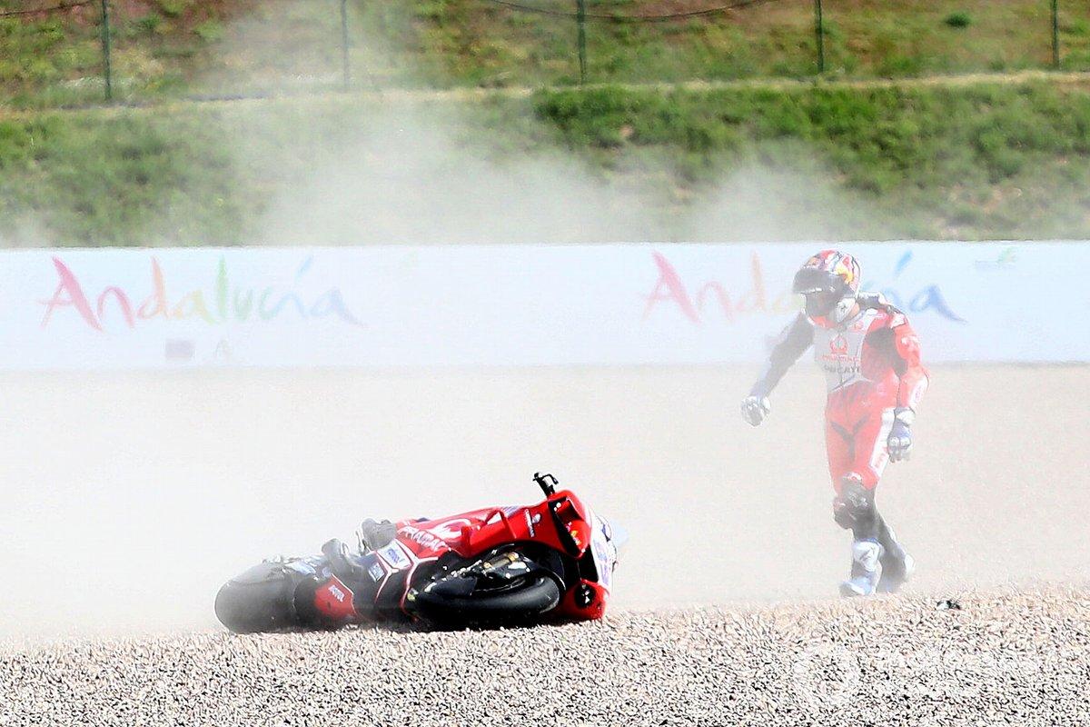 Jorge Martin, Pramac Racing, incidente