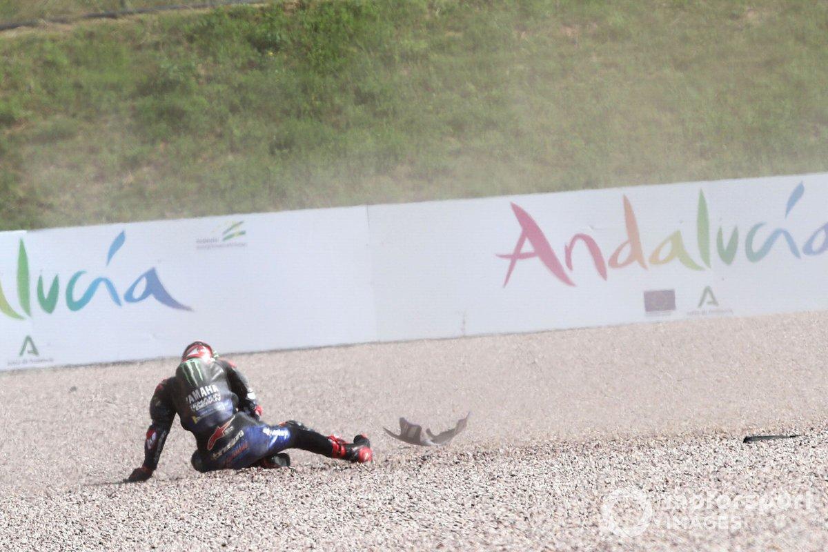 Accidente de Fabio Quartararo, Yamaha Factory Racing