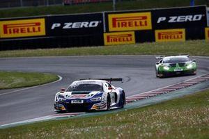 #28 Montaplast by Land-Motorsport Audi R8 LMS: Luca-Sandro Trefz, Christopher Haase
