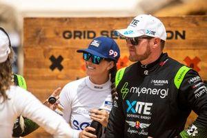 Oliver Bennett, Hispano Suiza Xite Energy Team et Sara Price, Chip Ganassi Racing