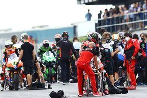 Scott Redding, Aruba.It Racing - Ducati, avec des pneus pluie