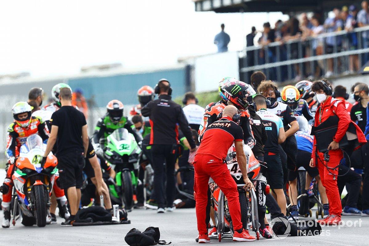 Scott Redding, Aruba.It Racing - Ducati with full wet tyres