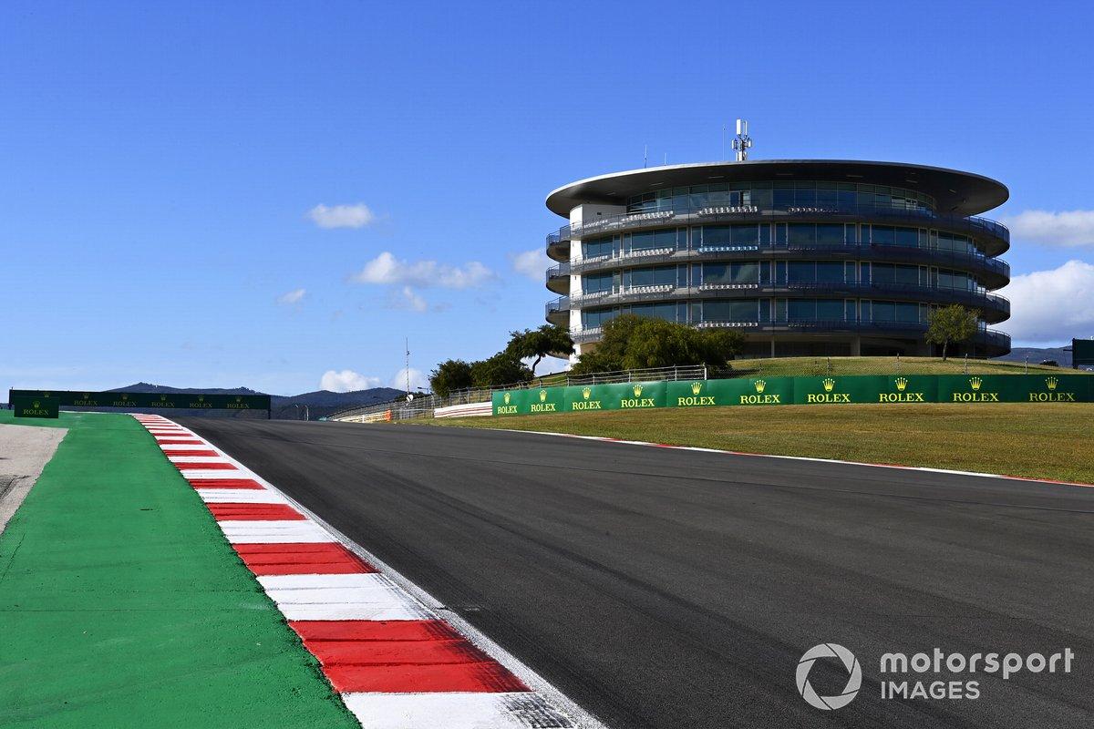 El circuito de Portimao, sede del GP de Portugal