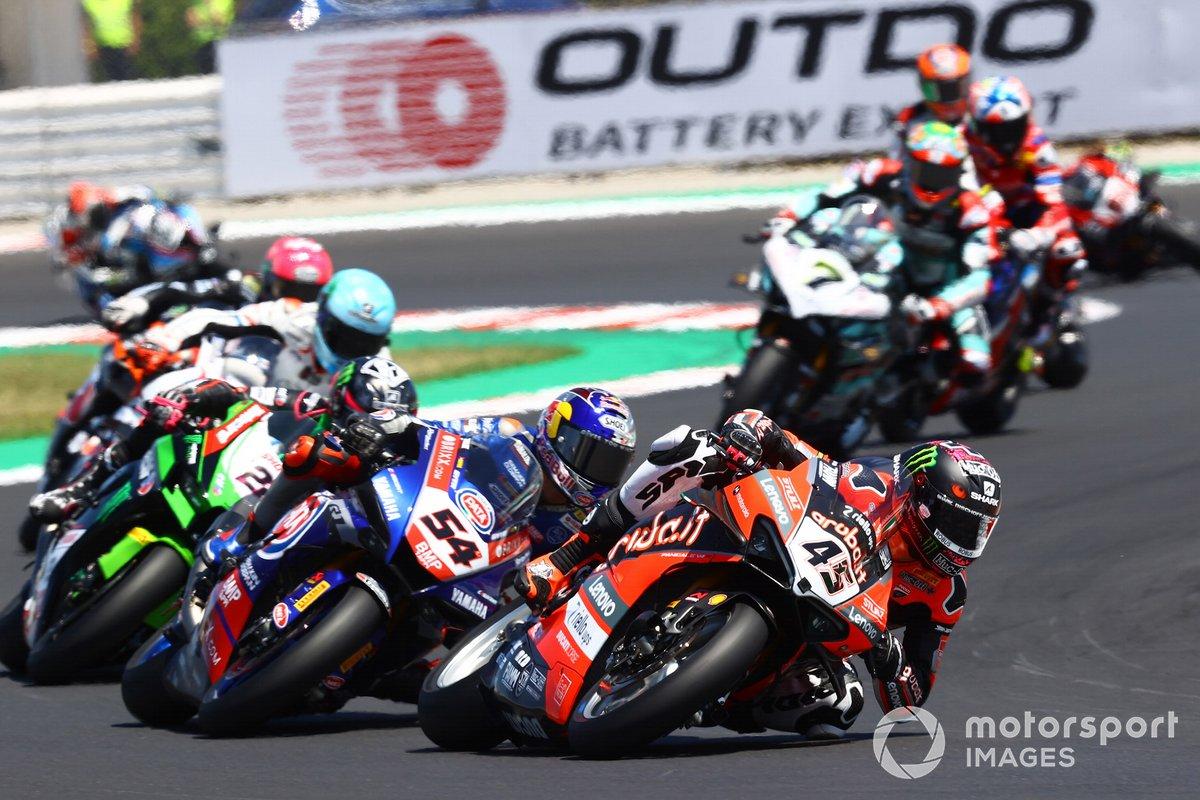 Scott Redding, Aruba.It Racing - Ducati, Toprak Razgatlioglu, PATA Yamaha WorldSBK Team