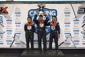 Podium SRX Series at Knoxville: Tony Stewart, Hailie Deegan, Ernie Francis Jr.