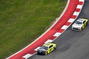 Austin Cindric, Team Penske, Ford Mustang Menards/Richmond and Alex Labbe, DGM Racing, Chevrolet Camaro Can-Am