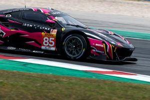 #85 Iron Lynx Ferrari 488 GTE EVO: Rahel Frey, Michelle Gatting, Manuela Gostner