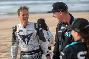 Mattias Ekstrom, ABT CUPRA XE, and Johan Kristoffersson, Rosberg X Racing