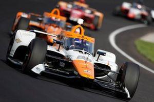 Juan Pablo Montoya, Arrow McLaren SP Chevrolet, Felix Rosenqvist, Arrow McLaren SP Chevrolet, Marco Andretti, Andretti Herta-Haupert w/Marco & Curb-Agajanian Honda, Pietro Fittipaldi, Dale Coyne Racing with RWR Honda