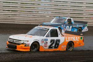 Tyler Ankrum, GMS Racing, Chevrolet Silverado LiUNA!, Chase Briscoe, Roper Racing, Ford F-150 CircleBDiecast.com
