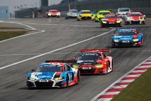 #15 Audi Sport Team Phoenix Audi R8 LMS GT3: Frank Stippler, Dries Vanthoor, Frederic Vervisch