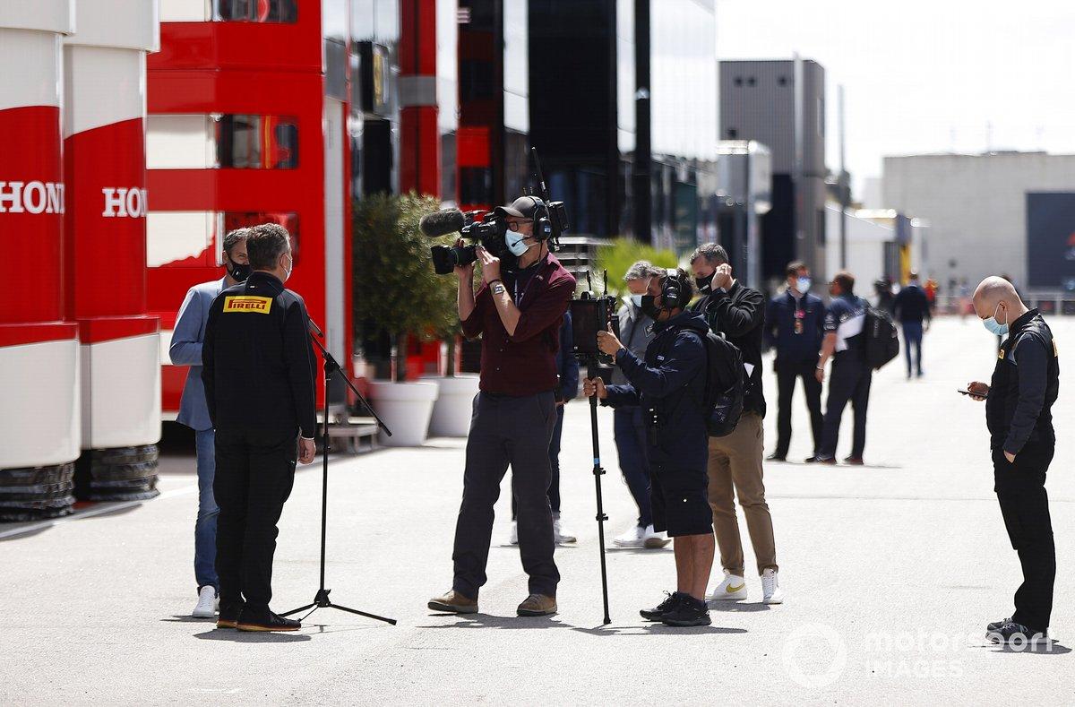 Entrevista a Mario Isola, director de carreras de Pirelli Motorsport