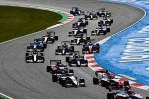 Dennis Hauger, Prema Racing, Arthur Leclerc, Prema Racing, Roman Stanek, Hitech Grand Prix