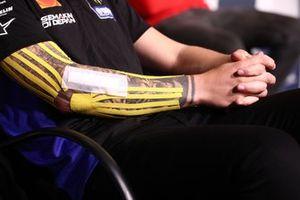 Fabio Quartararo, Yamaha Factory Racing injured after arm-pump operation
