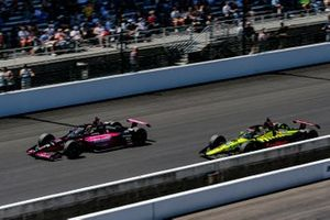 Helio Castroneves, Meyer Shank Racing Honda and Ed Jones, Dale Coyne Racing with Vasser Sullivan Honda