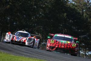 #33 Sean Creech Motorsport Ligier JS P320, LMP3: Lance Willsey, Joao Barbosa, #9 Pfaff Motorsports Porsche 911 GT3R, GTD: Zacharie Robichon, Laurens Vanthoor