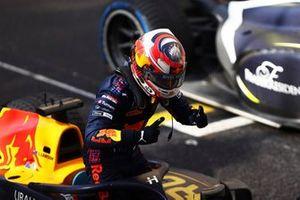 El ganador: Liam Lawson, Hitech Grand Prix