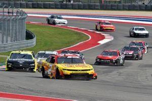Myatt Snider, Richard Childress Racing, Chevrolet Camaro Louisiana Hot Sauce, Austin Cindric, Team Penske, Ford Mustang Menards/Richmond