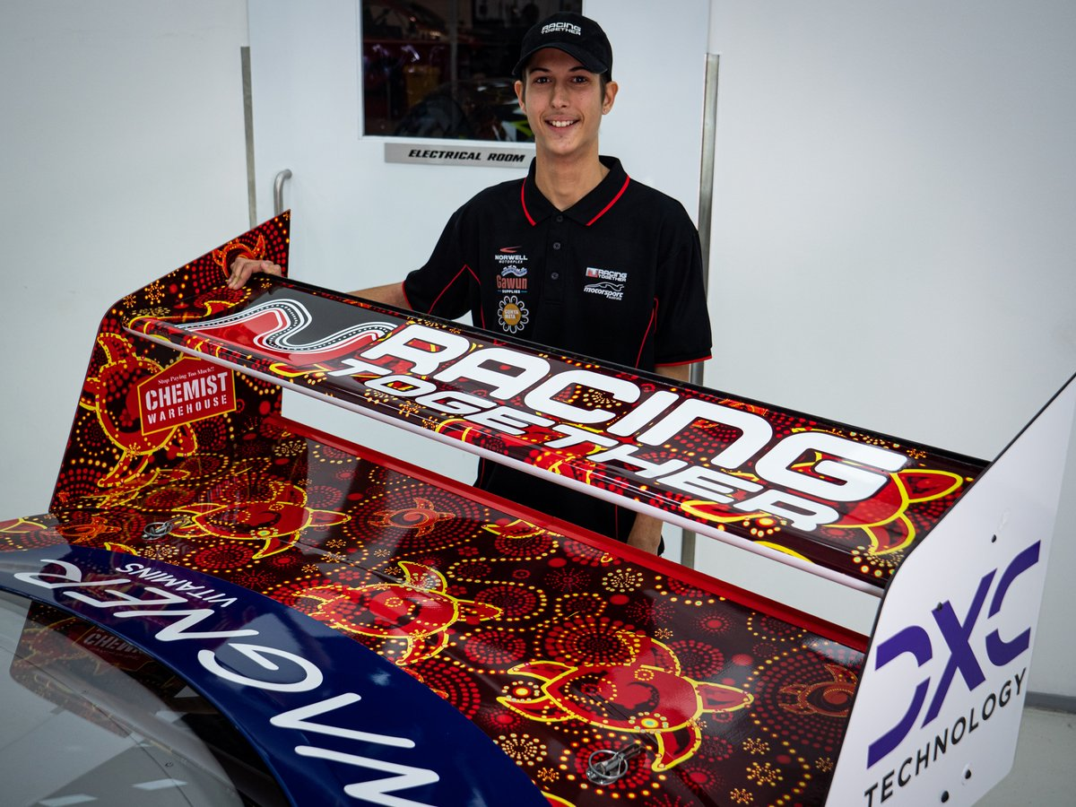 Dick Johnson Racing Indigenous livery