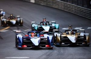 Robin Frijns, Envision Virgin Racing, Audi e-tron FE07 Antonio Felix Da Costa, DS Techeetah, DS E-Tense FE21