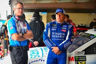Ryan Newman, Roush Fenway Racing, Ford Mustang Wyndham Rewards, Scott Graves