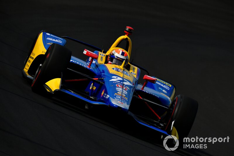 9º: #27 Alexander Rossi, NAPA AUTO PARTS, Andretti Autosport Honda: 228.267 mph