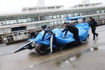 Car of Tadasuke Makino, Nakajima Racing