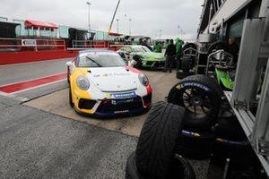Porsche in pit lane