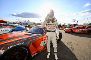 Pole sitter #2 Mercedes AMG Team Black Falcon Mercedes AMG GT3: Maro Engel