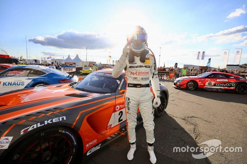 Polesitter: #2 Mercedes AMG Team Black Falcon Mercedes AMG GT3: Maro Engel