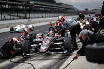 Will Power, Team Penske Chevrolet, au stand
