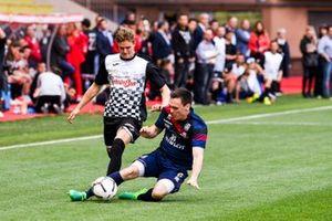 Mick Schumacher plays football