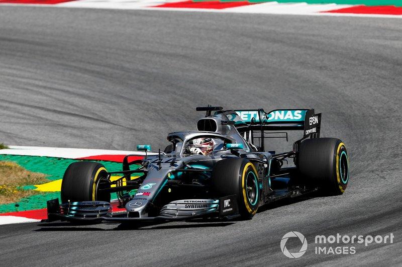 5 - Lewis Hamilton, Mercedes AMG F1 W10