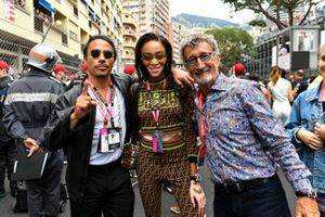 Salt Bae, Restauranteur, Supermodel Winnie Harlow, and Eddie Jordan on the grid