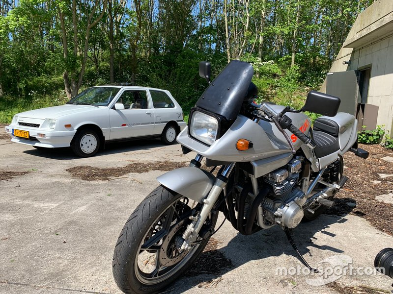 Suzuki Katana GSX1100S en de eerste Suzuki Swift