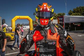 Race winner Lorenzo Colombo, MP motorsport