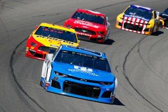 Alex Bowman, Hendrick Motorsports, Chevrolet Camaro Nationwide and Joey Logano, Team Penske, Ford Mustang Shell Pennzoil