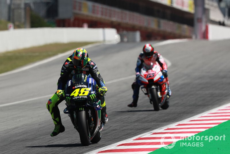 Valentino Rossi, Yamaha Factory Racing, Francesco Bagnaia, Pramac Racing