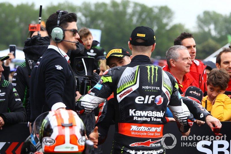 Alvaro Bautista, Aruba.it Racing-Ducati Team, Jonathan Jonathan Rea, Kawasaki Racing Team, World SBK
